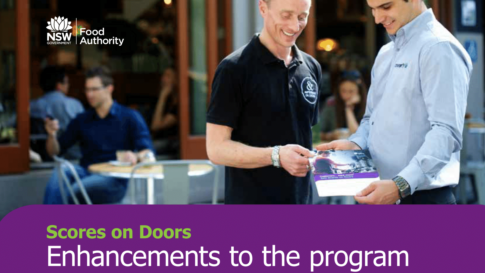 sc 1 st  Australian Institute of Food Safety & NSW Food Authority: The Scores on Doors Scheme